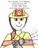 Community Helpers Rhyming Take Home Book