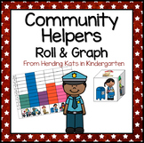 Community Helpers  Roll & Graph Activity