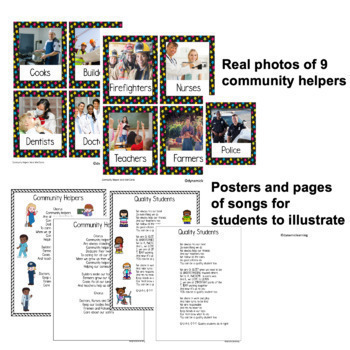 Community Helpers Activities and Worksheets- A TPT Featured Resource