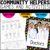 Community Helpers Worksheets| Kindergarten and First Grade