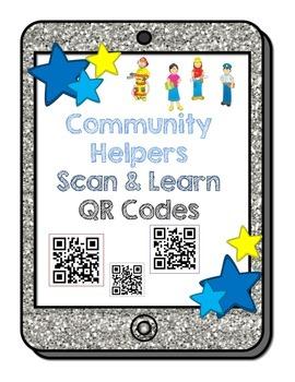 Community Helpers Scan & Learn QR Codes