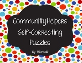 Community Helpers Self-Correcting Puzzle