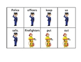 Community Helpers Sentence Scramble
