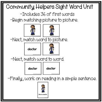 Community Helpers Adaptive Reader Kit