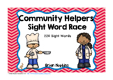 Community Helpers Sight Word Race