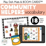 #Jan2019SLPMustHave Community Helpers Vocabulary Activity: Smash Mats