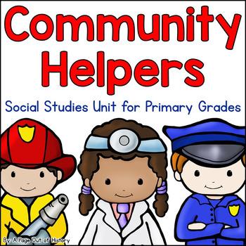 Community Helpers Social Studies Unit | Distance Learning