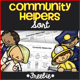 Community Helpers *Free* Sort