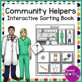 Community Helpers Sort and Match Interactive book