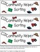 Community Helpers Sorting