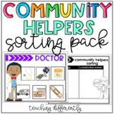 Community Helpers Sorting Pack