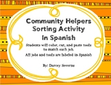Community Helpers - Spanish