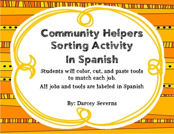 Community Helpers - Spanish