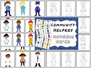 Community Helpers Spanish Articulation and Language MEGA PACK -- NO PREP