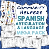 Community Helpers: Spanish Speech Therapy - Articulation a