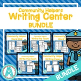 Community Helpers Spanish & English Writing Center **BUNDLE**
