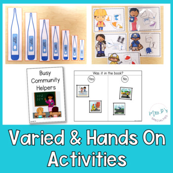 Community Helpers: Special Ed Thematic Unit