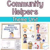 Community Helpers Thematic Unit for Special Education (Autism Resource)