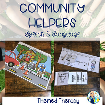 Community Helpers Speech and Language Thematic Pack for Mixed Groups