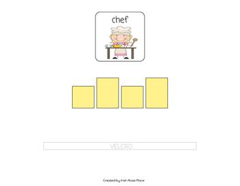 Community Helpers Spelling Book (Adapted Book)