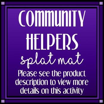 Community Helpers Splat Mat