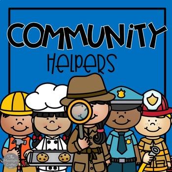 Community Helpers Close Read Materials