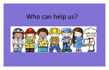 Community Helpers (Target words: Who & Help)