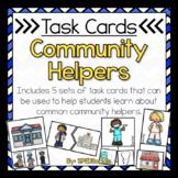 Community Helpers Task Box Activities