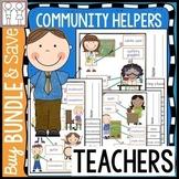 BUNDLE: Community Helpers Kindergarten