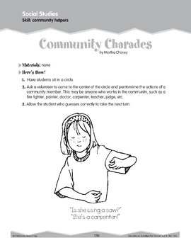 Community Helpers (Ten-Minute Activities)