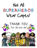 Community Helpers - Thank You Card