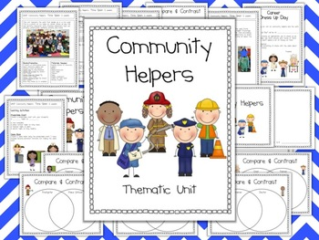 Community Helpers Thematic Unit