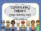 Community Helpers Theme MEGA Learning Pack