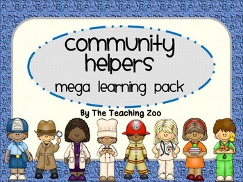 Community Helpers Theme MEGA Learning Pack