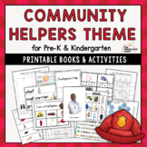 Community Helpers Theme for Preschool & Kindergarten