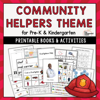 Community Helpers Theme for Preschool & Kindergarten by ...