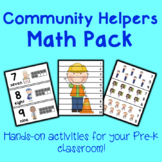 Community Helpers Math Center Activities