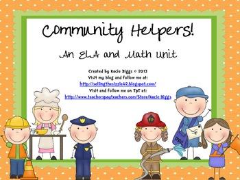 Community Helpers Unit!