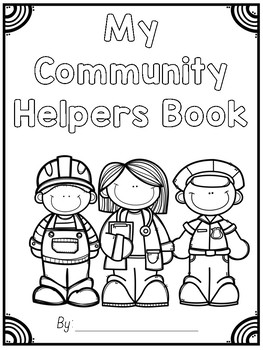 Community Helpers Unit Book