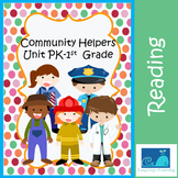 Community Helpers Unit PK-1st Grade W/ Hands On Activities