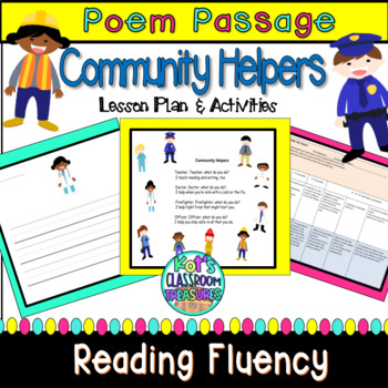 Community Helpers Unit.  Shared Reading/Interactive