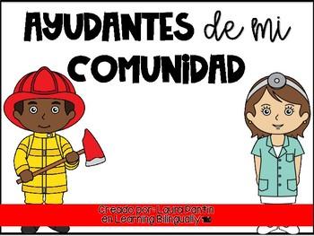 Community Helpers Unit in Spanish
