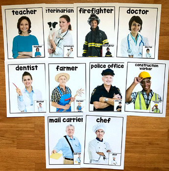 Community Helpers Unit (w/Real Photos) by File Folder ...