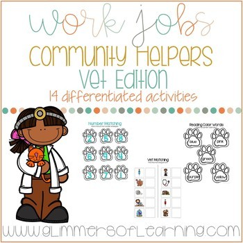 Community Helpers: Vet Edition