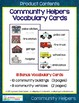 Community Helpers Vocabulary Cards