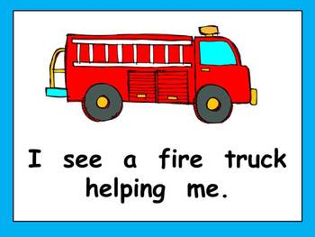 Community Helpers What Do You See Kindergarten Shared Reading PowerPoint