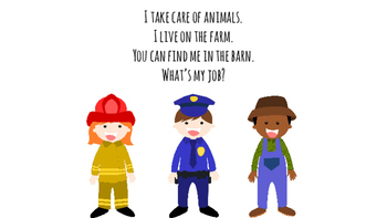 Community Helpers: What's my Job?