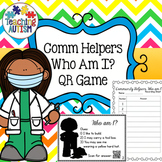 Community Helpers QR Game