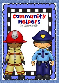 Community Helpers - Who and What questions for students wi