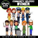 Community Helpers - Women Clip Art